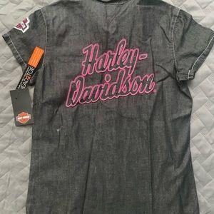 NWT!!!! Girls Harley Davidson collard